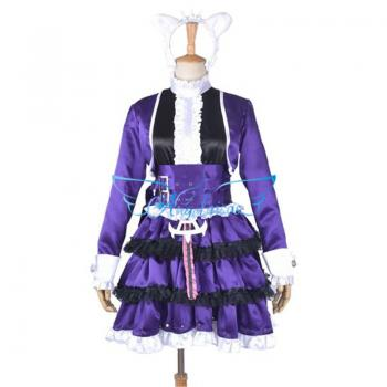 Angelaicos Women's Cosplay Party Halloween Costume Purple
