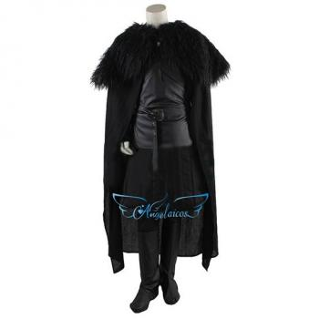 Angelaicos Men's Faux Leather Halloween Costume Suits All Sets Gloves