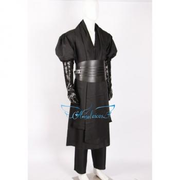 Angelaicos Men's Halloween Party Cosplay Costume Uniform Black