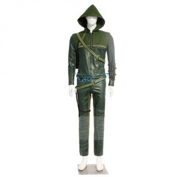 Angelaicos Men's Top Design Halloween Cosplay Costume Suits Sets Army Green