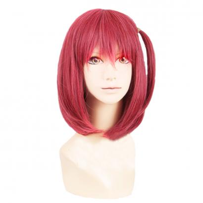 Angelaicos Women's Short Bob Red Wig