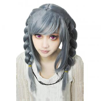 Angelaicos Women's Lolita Braids Costume Cosplay Full Wigs