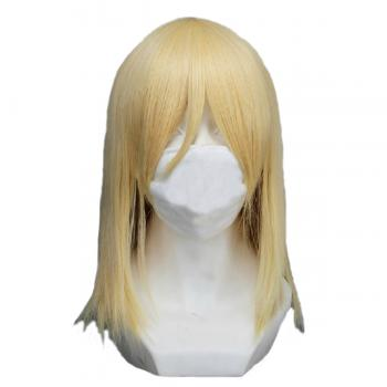 Angelaicos Women's Medium Blonde Cosplay Wig
