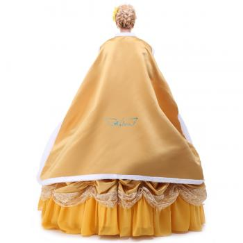 Angelaicos Womens Layered Prom Dresses Palace Queen Costume Cloak Petticoat