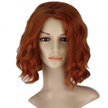 Angelaicos Women's Short Wavy Lady Costume Party Cosplay Wig